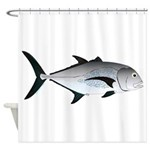 Giant Trevally Shower Curtain