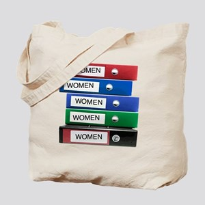 Do you have your Binders full of women? Tote Bag