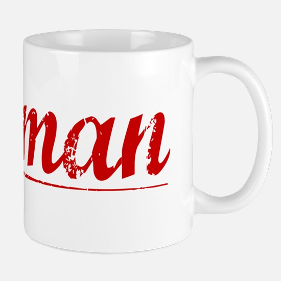 Holman, Vintage Red Mug