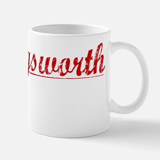 Hollingsworth, Vintage Red Mug