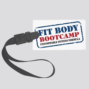 Fit Body Boot Camp Large Luggage Tag