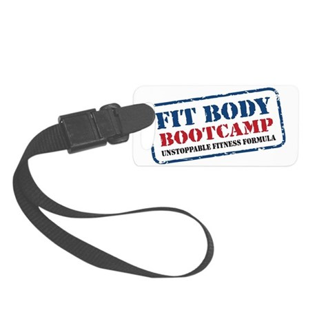 Fit Body Boot Camp Small Luggage Tag