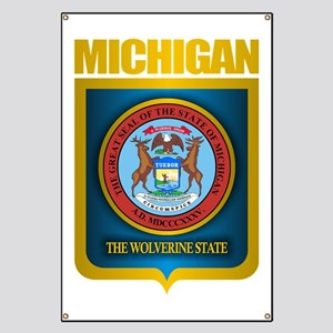 Michigan Gold Label Banner