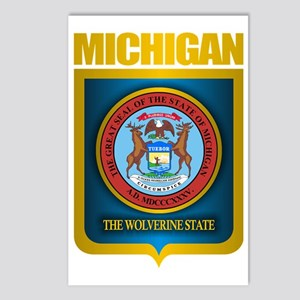 Michigan Gold Label Postcards (Package of 8)