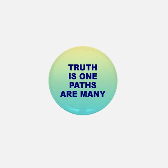 TRUTH IS ONE Mini Button