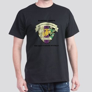 WoundedWarriorRegiment-text Dark T-Shirt