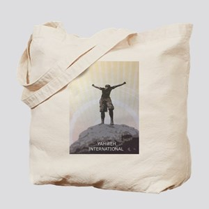 On This Rock I Stand Tote Bag