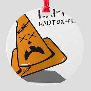 Hurt Cone Autox Round Ornament