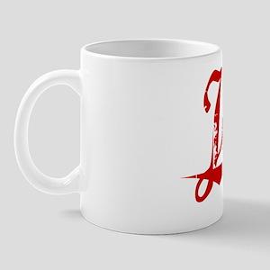 Jang, Vintage Red Mug