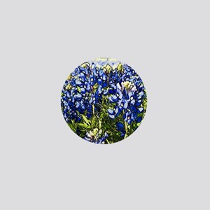 Texas Bluebonnets Mini Button