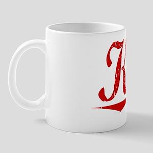 Katz, Vintage Red Mug