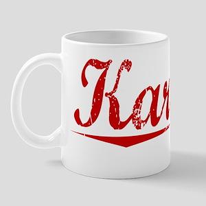 Karcher, Vintage Red Mug