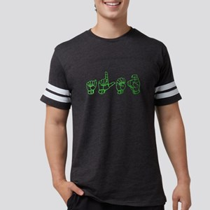Alex -green in ASL T-Shirt
