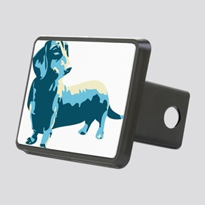 Dachshund Pop Art dog Rectangular Hitch Cover