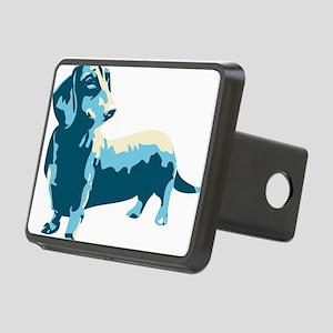 Dachshund Pop Art dog Rectangular Hitch Cover