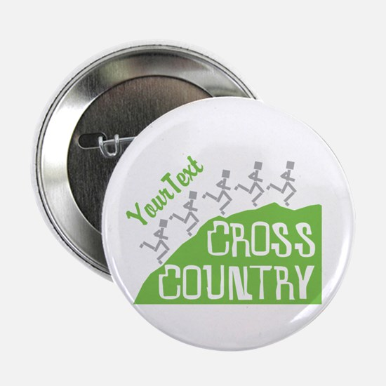 "Customize Cross Country 2.25"" Button"