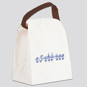 Scarlett Canvas Lunch Bag