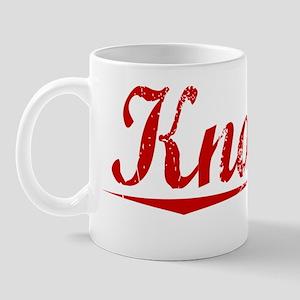 Knauss, Vintage Red Mug