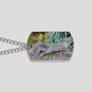 Squirrel Yoga 11550 H Dog Tags