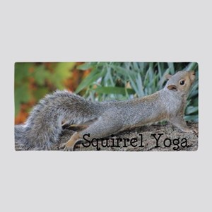 Squirrel Yoga 11550 H Beach Towel