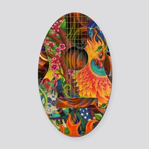 pheonix-poster Oval Car Magnet