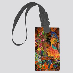 pheonix-poster Large Luggage Tag