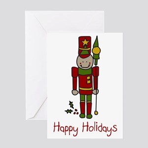 Holiday Nut Cracker Greeting Card