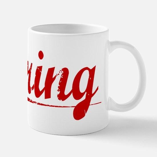 Kring, Vintage Red Mug
