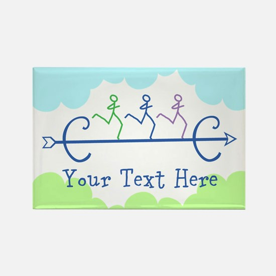 CUSTOMIZE Cross Country Running Magnets