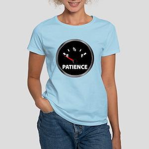 Out of Patience Fuel Gauge Women's Light T-Shirt