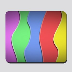 Bright Lines Mousepad