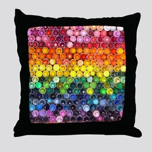 Color Full Throw Pillow