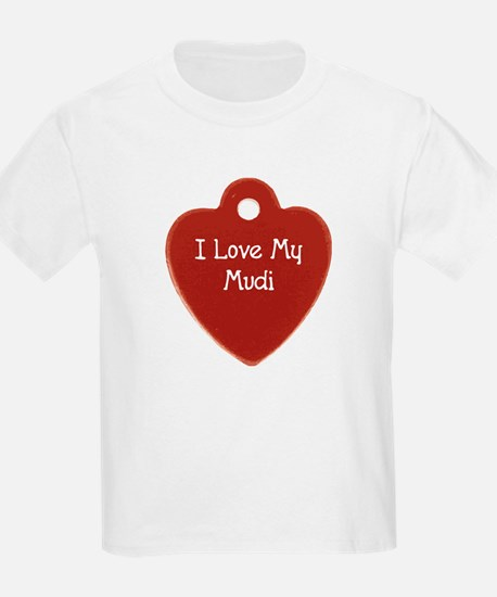 Love My Mudi Kids T-Shirt
