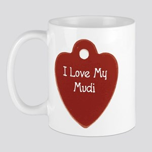 Love My Mudi Mug