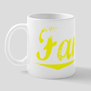 Fannin, Yellow Mug