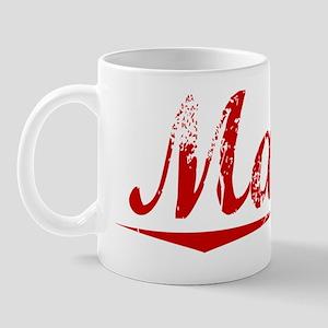 Mattis, Vintage Red Mug