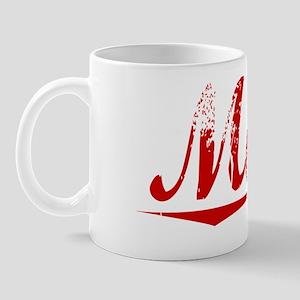 Matte, Vintage Red Mug