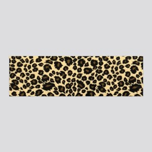 Leopard Print 20x6 Wall Decal