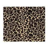Cheetah fur Fleece Blankets