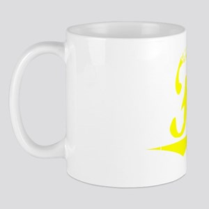 Fisk, Yellow Mug