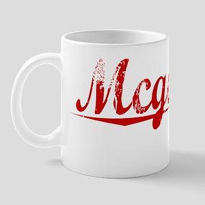 Mcgowan, Vintage Red Mug
