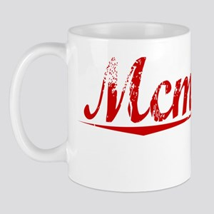 Mcmanus, Vintage Red Mug