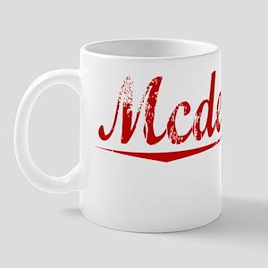 Mcdermott, Vintage Red Mug