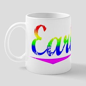 Earhart, Rainbow, Mug