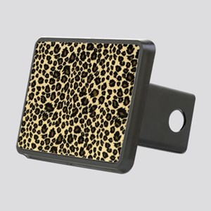 Leopard Print Rectangular Hitch Cover
