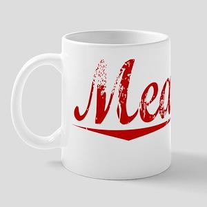 Meagher, Vintage Red Mug