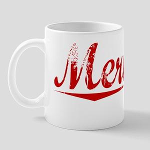 Merideth, Vintage Red Mug