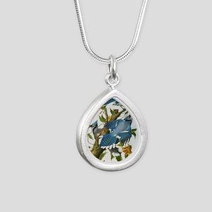 bja_greeting_card_192_V_ Silver Teardrop Necklace