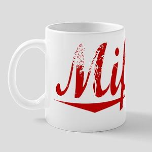 Mifflin, Vintage Red Mug