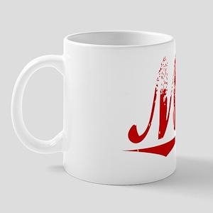 Mika, Vintage Red Mug